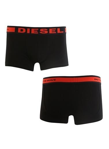 Diesel DIESEL 3 LÜ ERKEK BOXER 00CKY3-0BAOF-01 Siyah